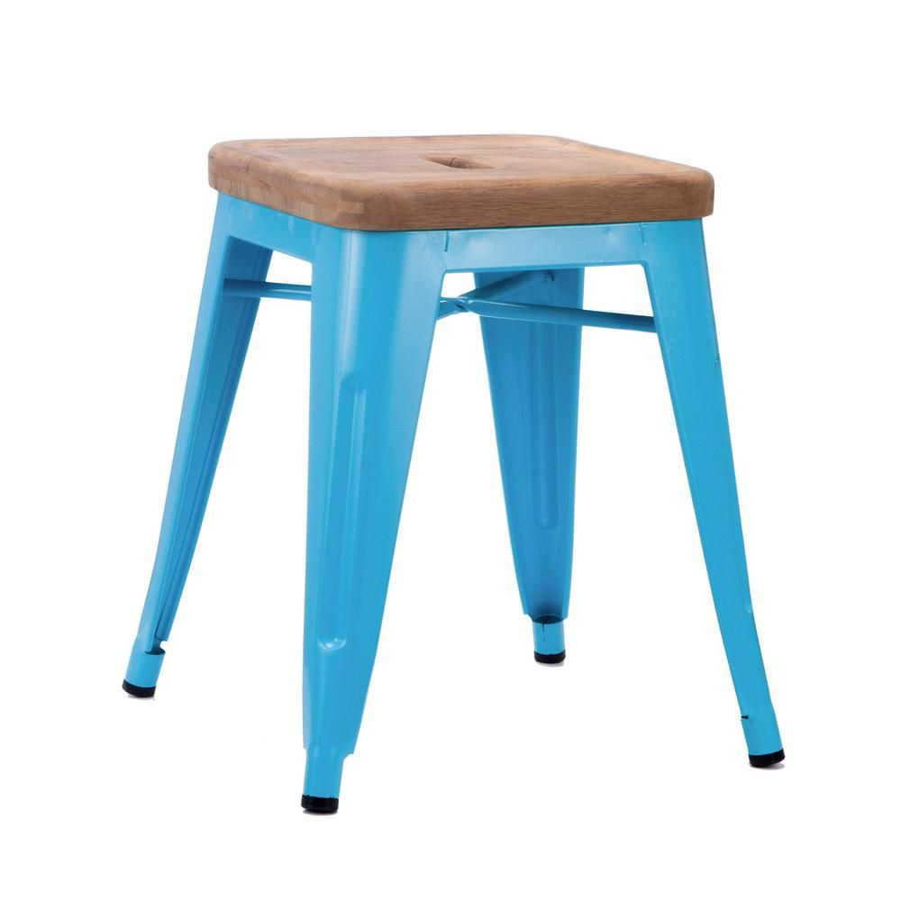 Bistro Counter Stool | dotandbo.com: In grey, not blue for the ...