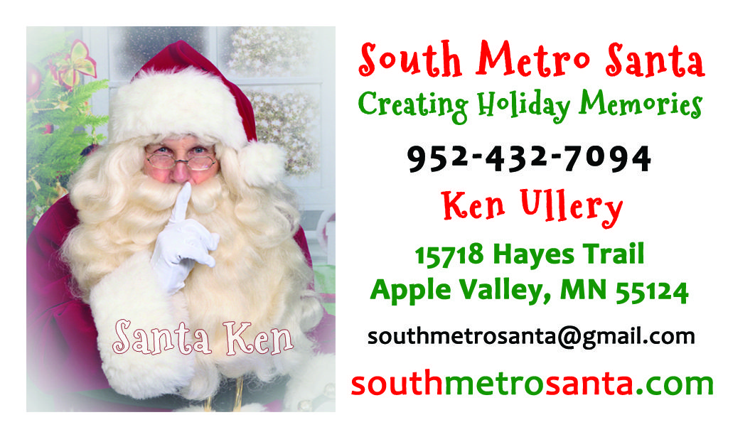 Business card design for ken ullery south metro santa graphic business card design for ken ullery south metro santa colourmoves