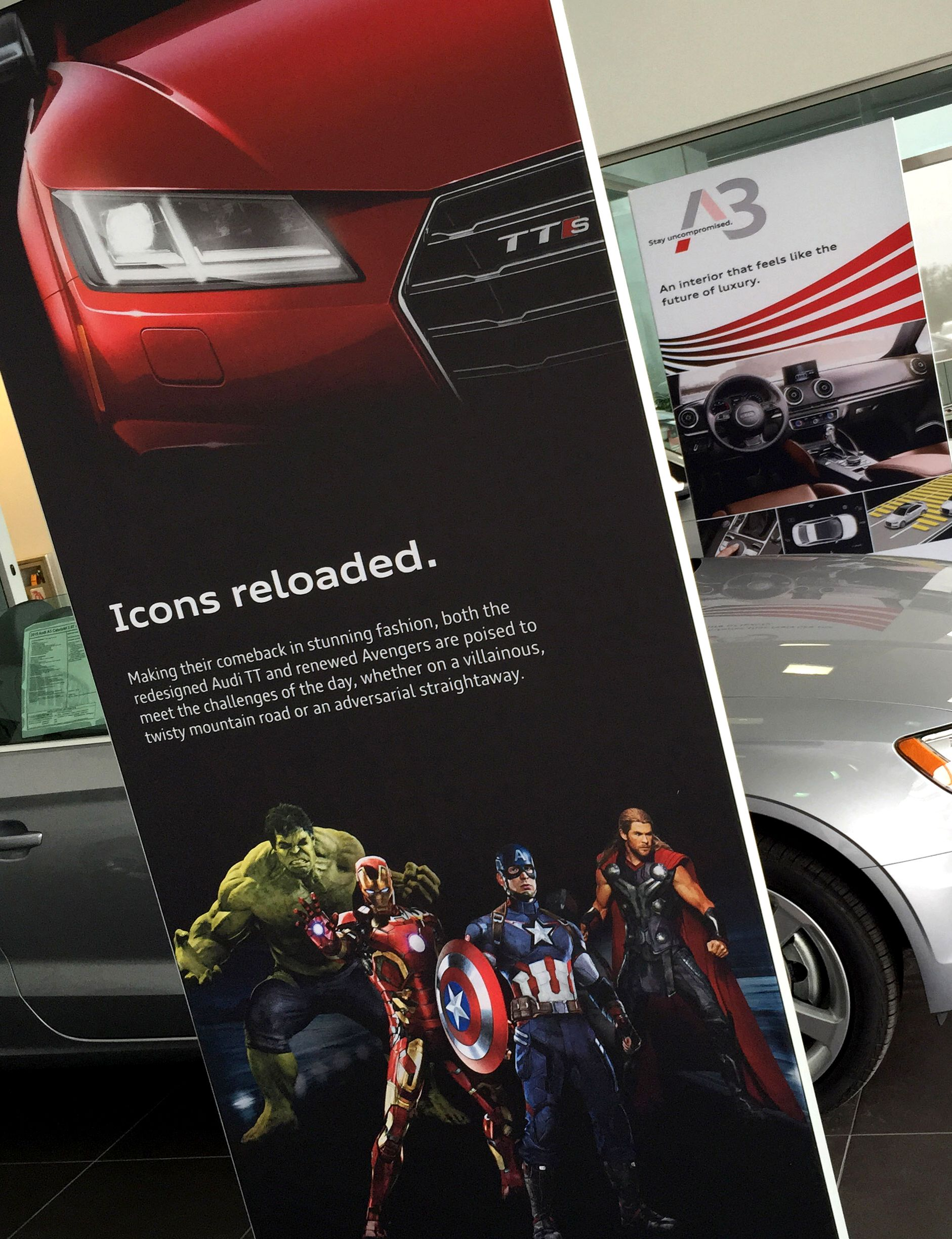 TTS to be featured in the new upcoming Avengers Movie. I would have though they would spring for the RS model.