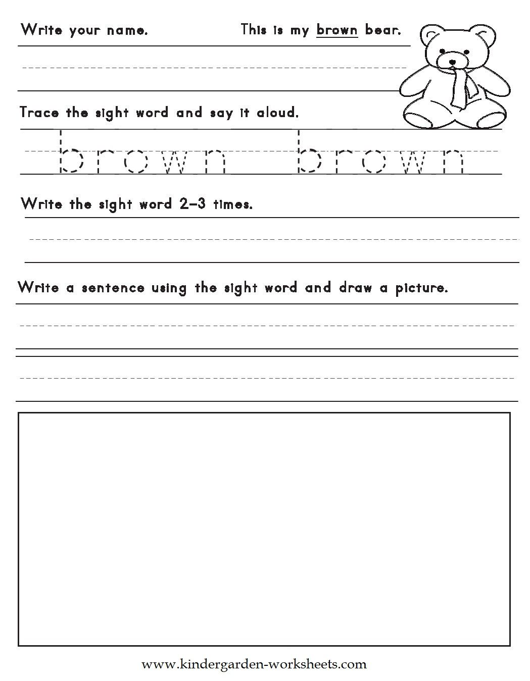 1st Grade Grammar Worksheets To Download Free