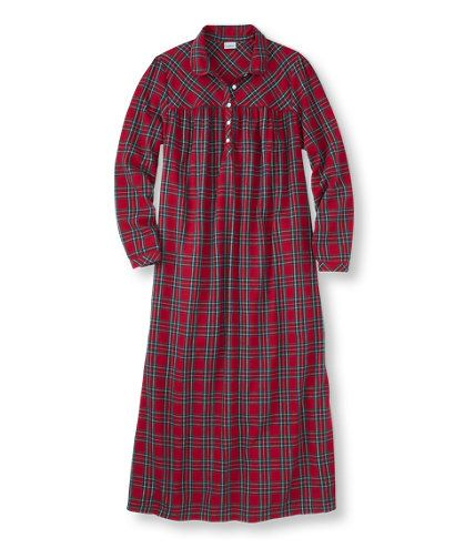 Tartan Flannel Nightgown: Sleepwear | Free Shipping at L.L.Bean ...