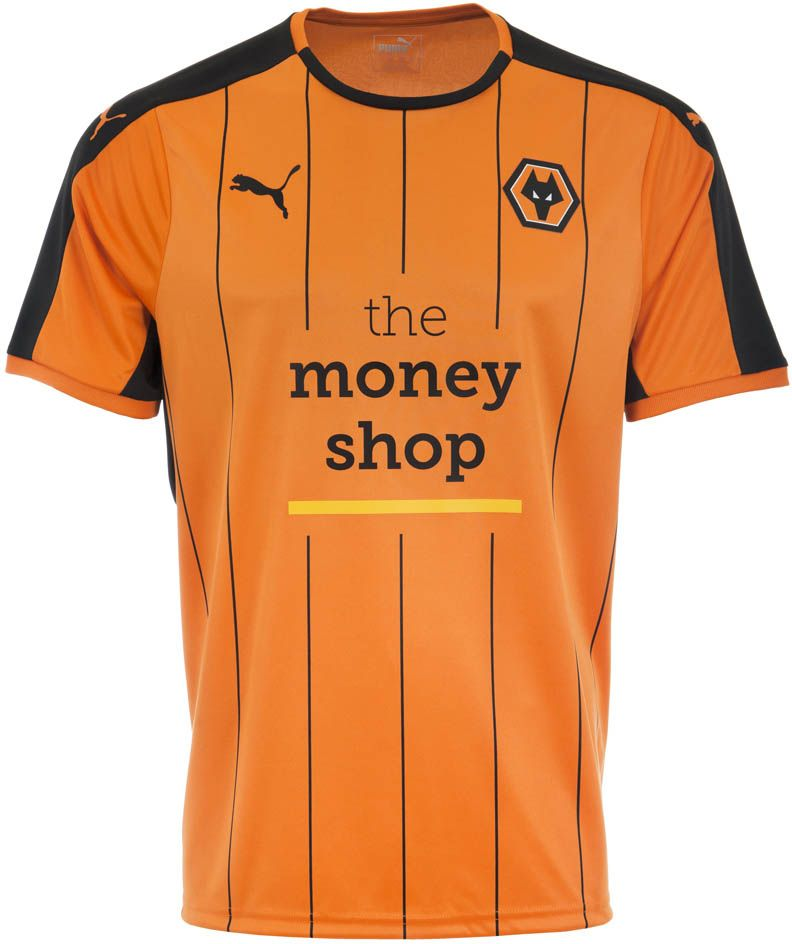 Wolverhampton Wanderers 16-17 Home and Away Kits Released - Footy Headlines fcf01eb58