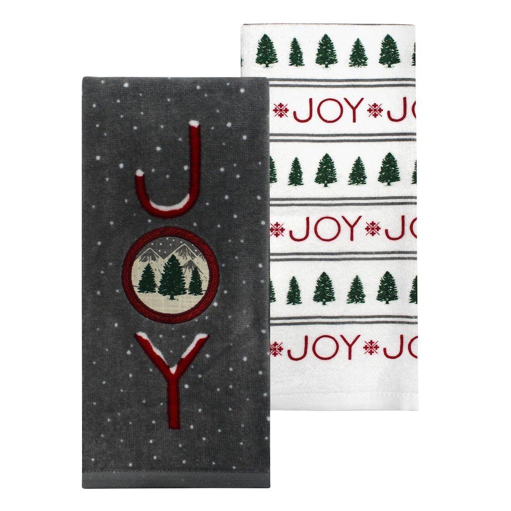 St Nicholas Square Joy Kitchen Towel 2 Pk Products Joy