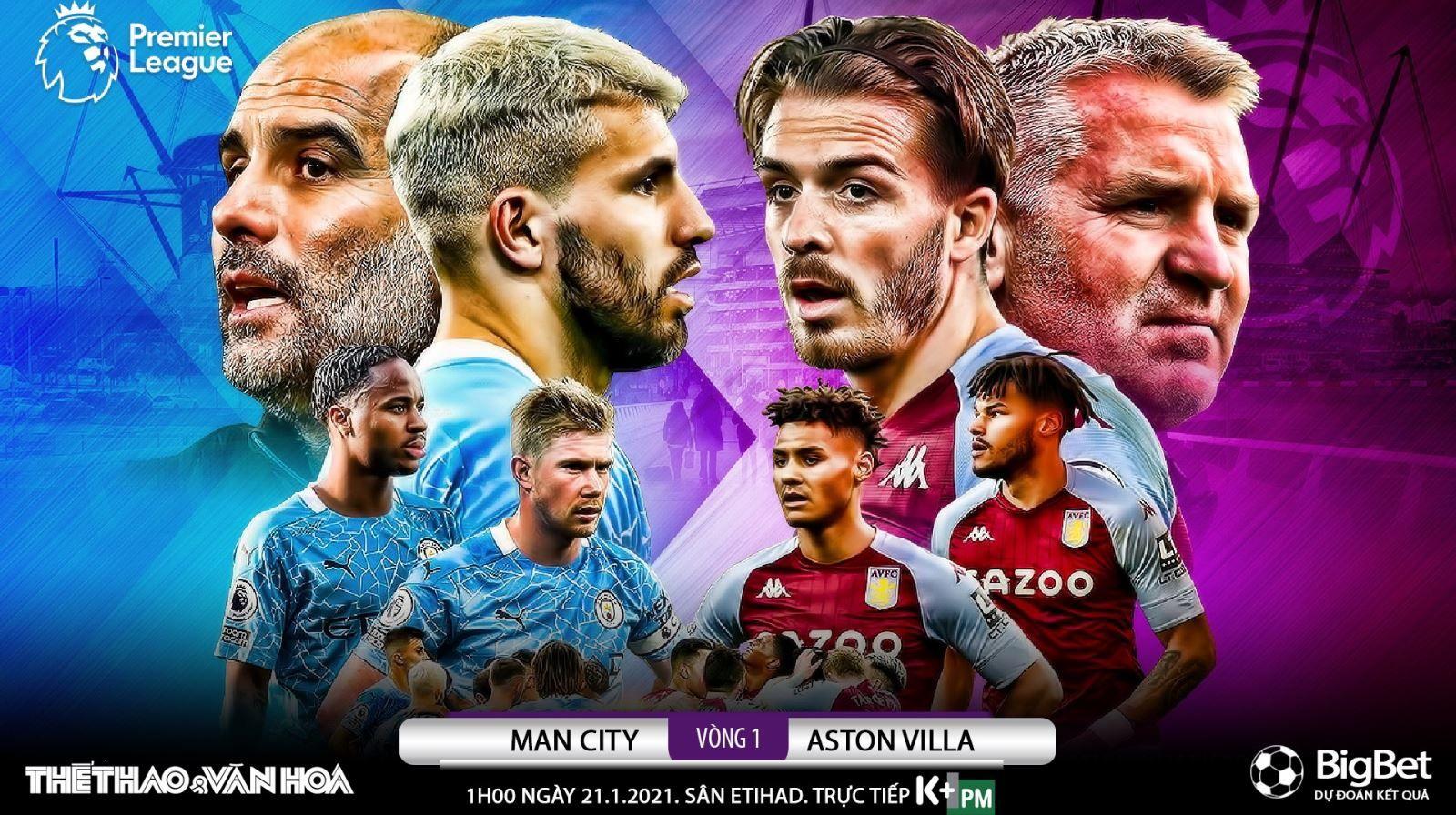Man City vs Aston Villa – Thống kê, dự đoán tỷ số, đội hình