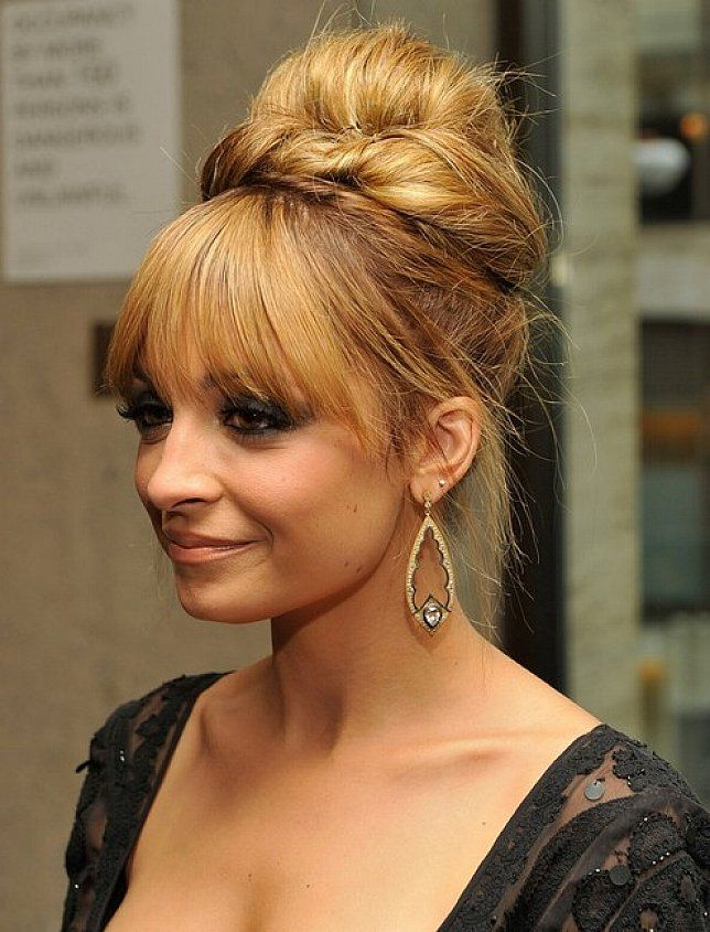 Easy bun updo hairstyles bangs for long straight hair wedding hair easy bun updo hairstyles bangs for long straight hair pmusecretfo Image collections