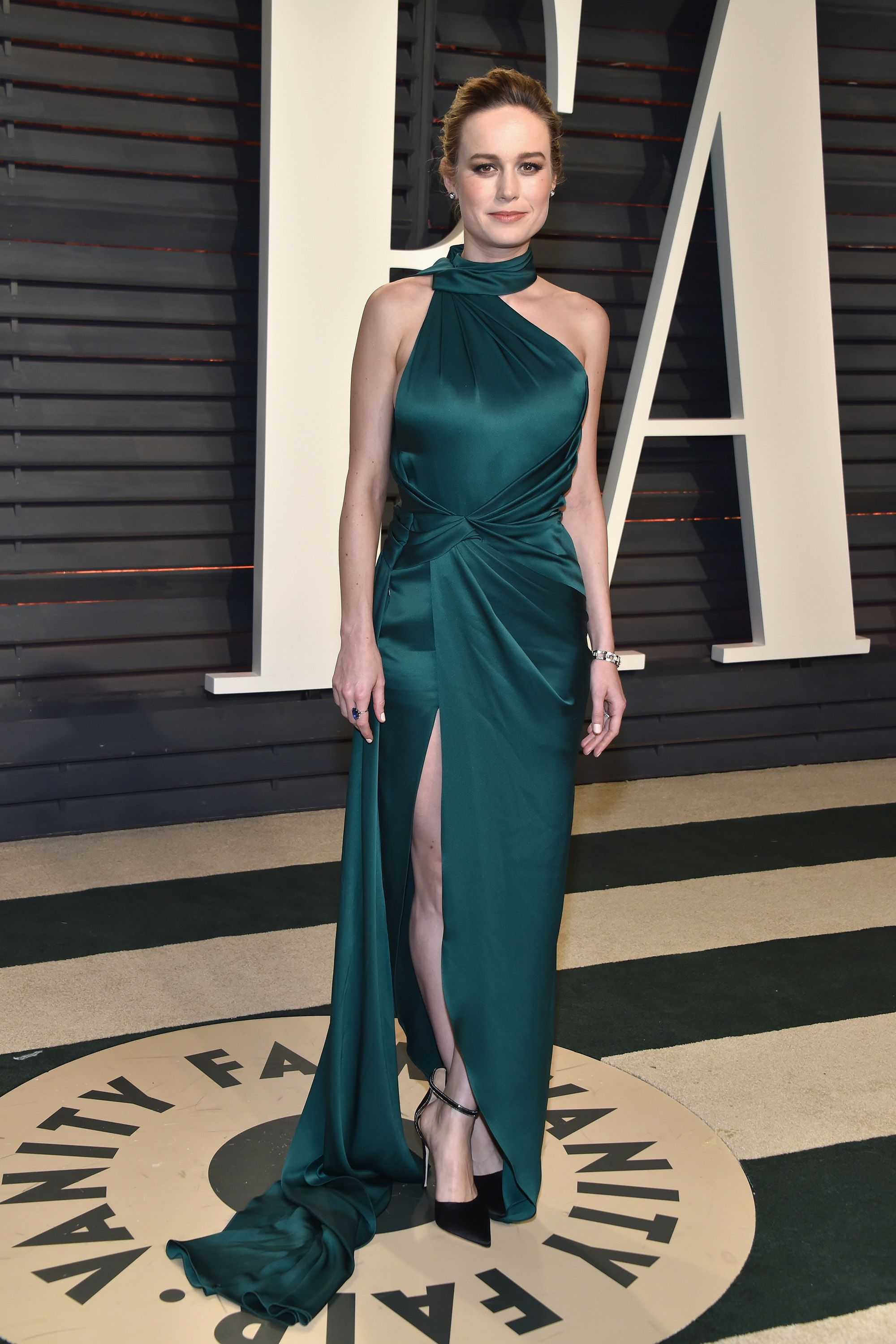 964ea5870f Brie Larson in Ralph & Russo Couture - 2017 Vanity Fair Oscars after party