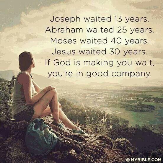 Waiting. ...