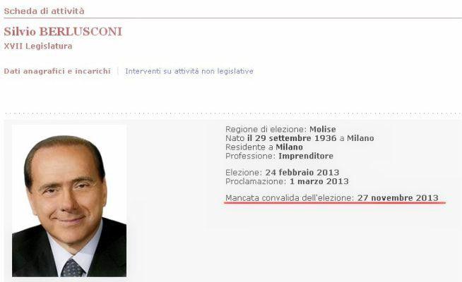 Dopo la decadenza, lo scranno di Berlusconi ospita un nuovo senatore: l'ex Pdl e ora alfaniano Ulisse Di Giacomo, primario di cardiologia,  http://tuttacronaca.wordpress.com/2013/11/28/ulisse-di-giacomo-il-senatore-che-siedera-sullo-scranno-che-era-di-berlusconi/