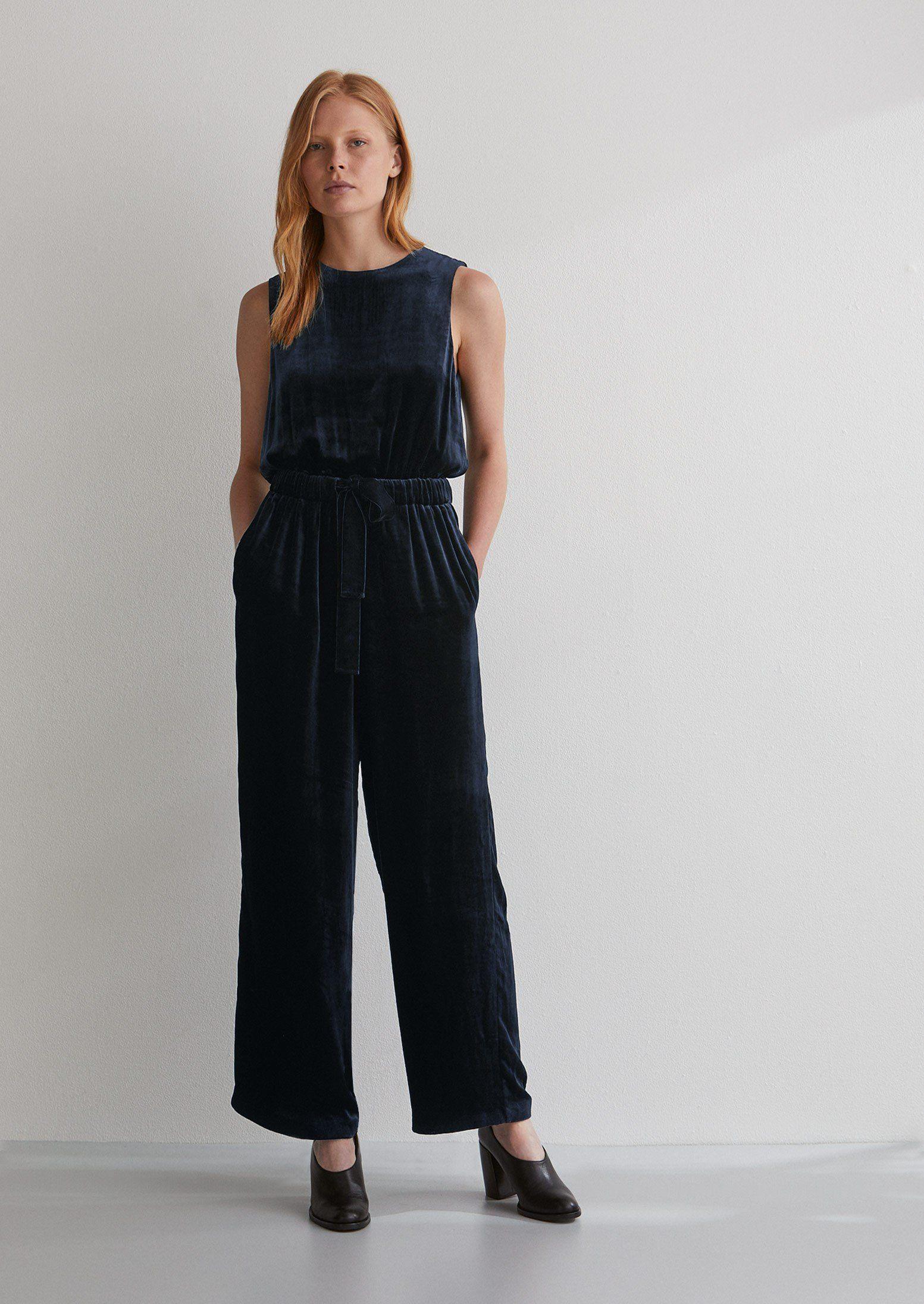 9879c6449b37 Silk Velvet Jumpsuit