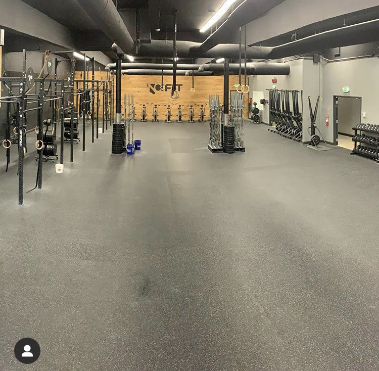 Pin By Nick Beswick On Crossfit Cornerstone Gym Setup Small Home Gyms Gym Design
