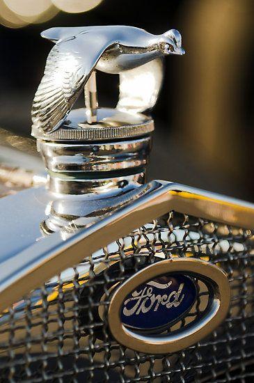 1930 Ford Quail Hood Ornament Photo By Jill Reger Hood