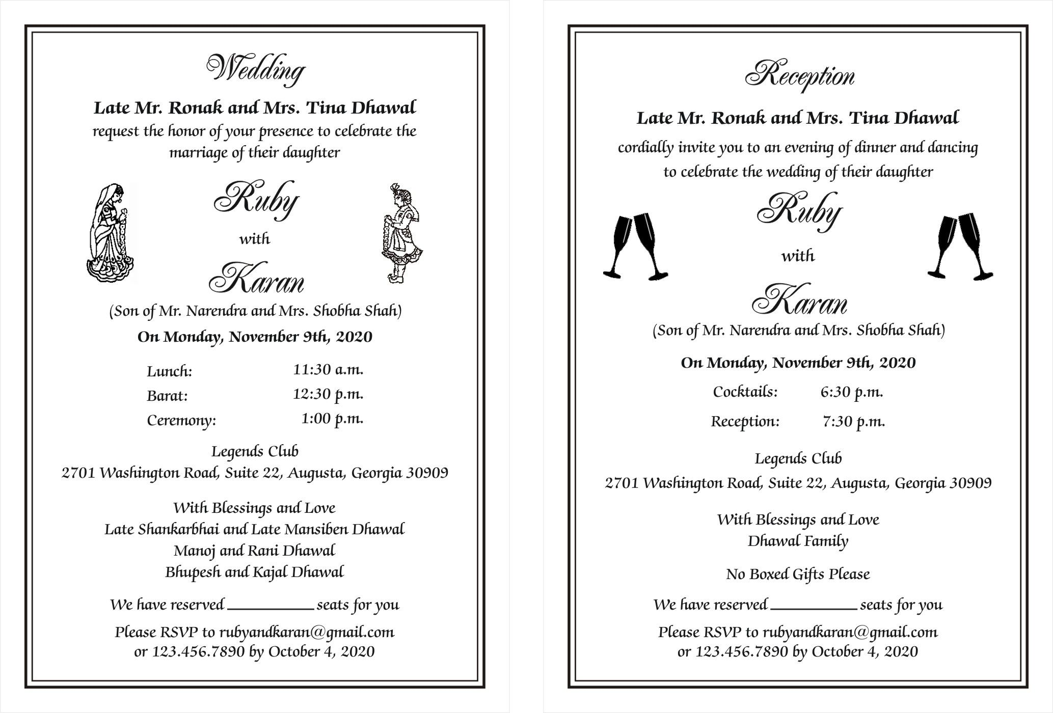 Pin On Hindu Wedding Card Wordings For Invitations