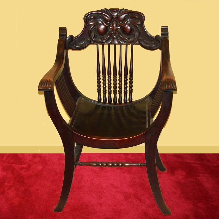 Northwind Throne Chair Made In Grand Rapids Mi Circa Superb Original Condition Now Alpha Home Decor Of Troy