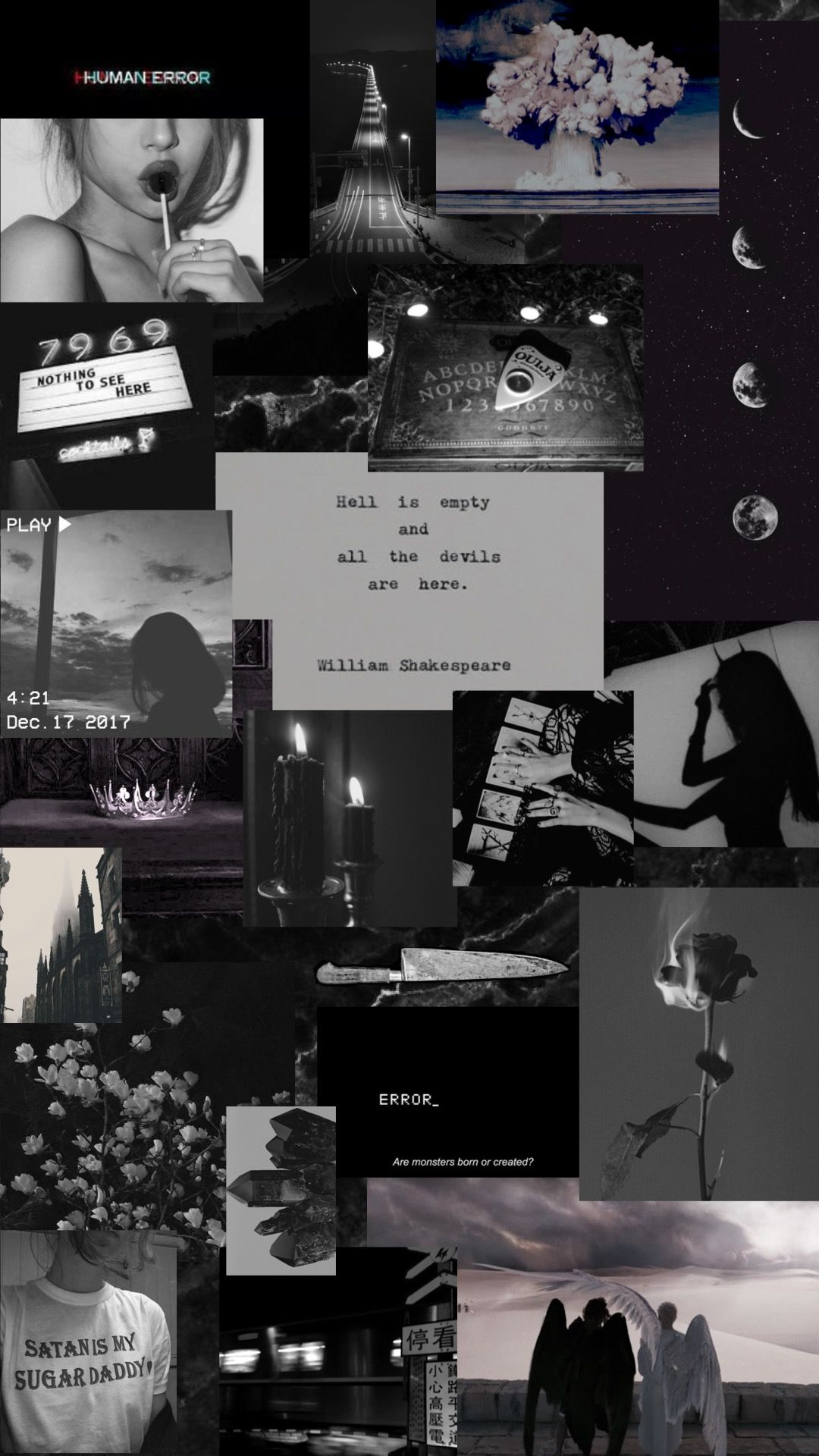 Black Collage Wallpaper : black, collage, wallpaper, SBT🕊, (@bikinisaint), Instagram, Photos, Videos, Wallpaper,, Black, Aesthetic, Wallpapers