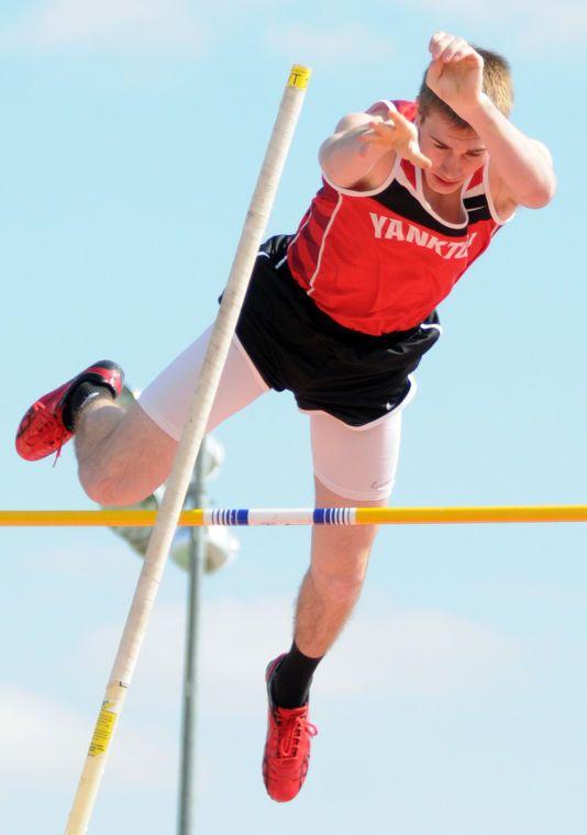 Yankton Vaulters Flying High Despite Challenging Spring Pole Vault Challenges Yankton