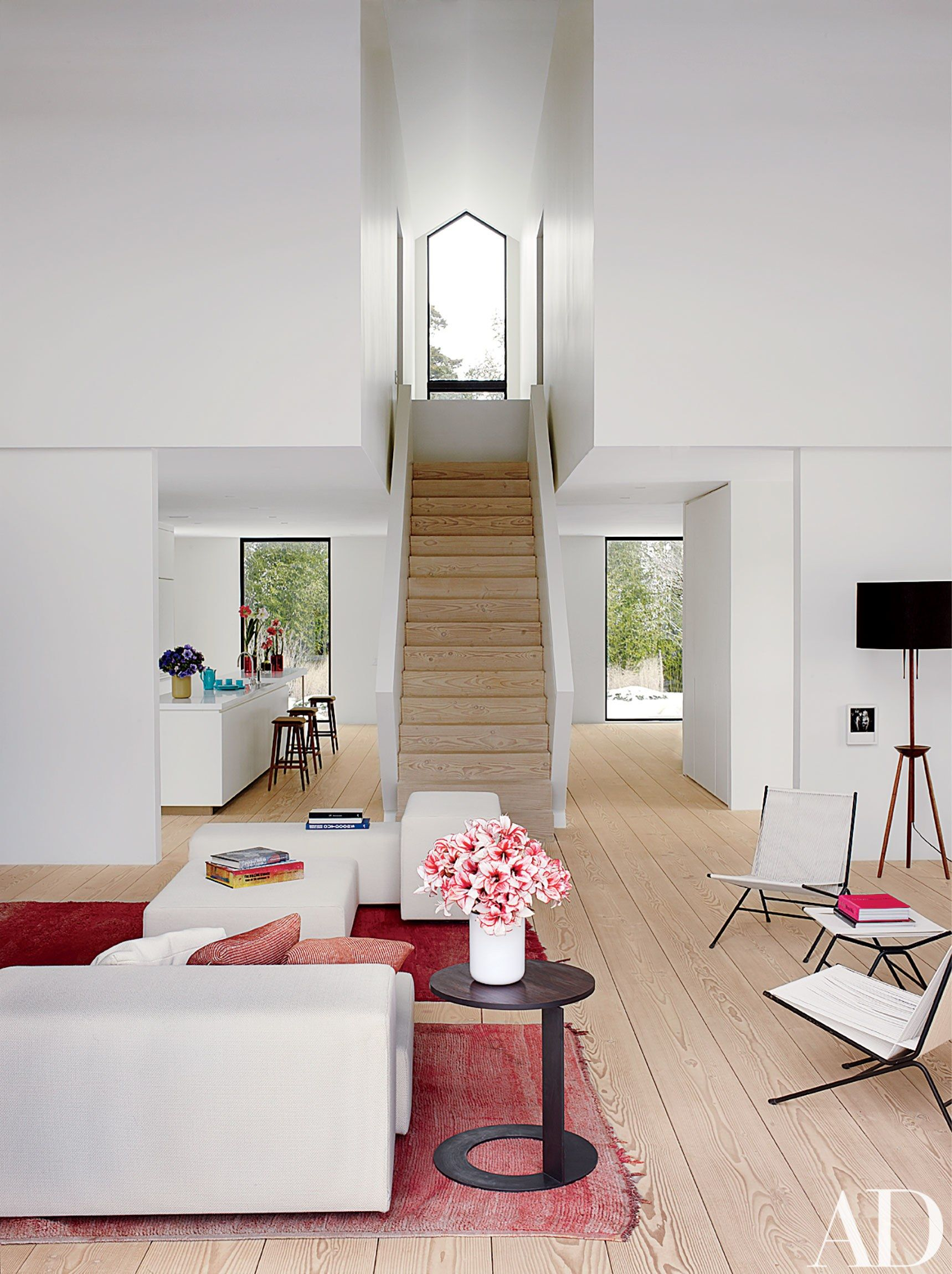 Modern Wohnen Wohnzimmer See How A Hamptons Weekend House Becomes A Minimalist Retreat