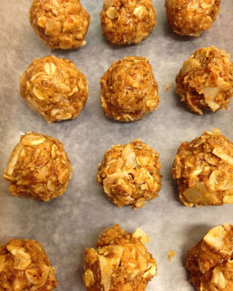 Cinnamon Peanut Butter Energy Balls