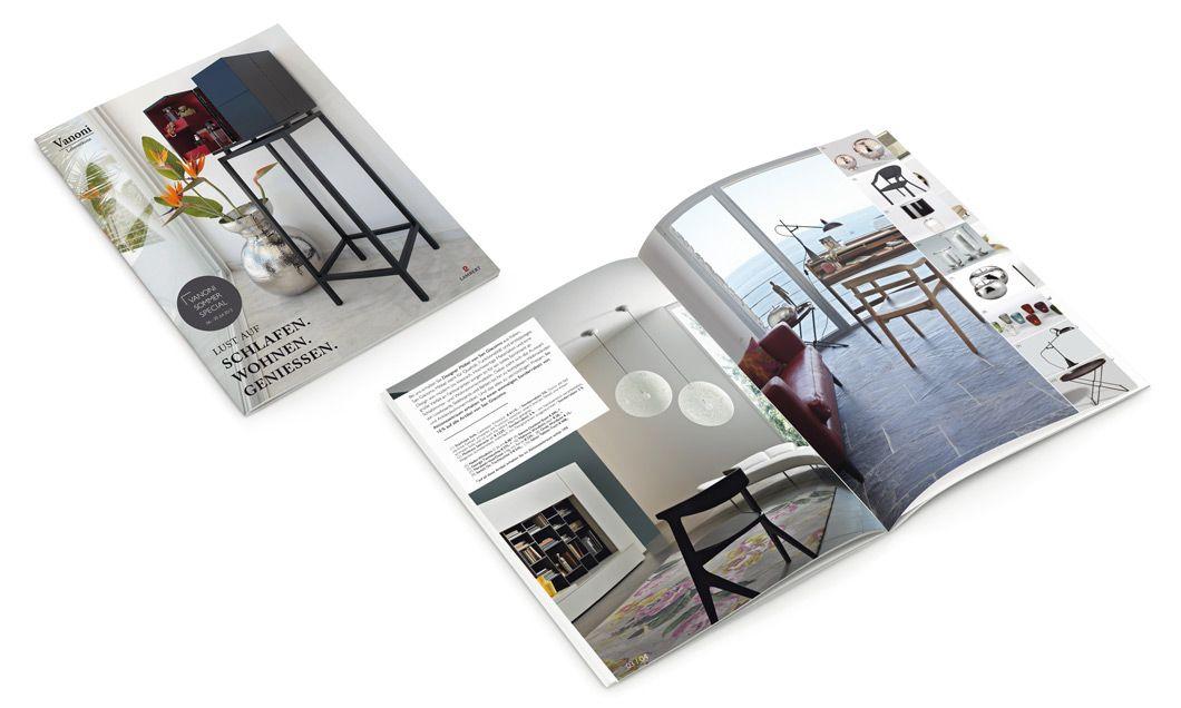Die Vanoni Lebensräume GmbH verwandelt Räume in exklusive Wohlfühlräume voller Lebensqualität und Charakter. Das Magazin des Unternhemens stammt aus unserer Feder und rückt Vanoni ins richtige Licht.