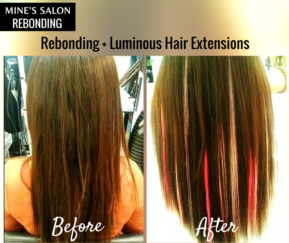 Want To Add Some Flair To Your Plain Rebonded Hair Luminous Hair