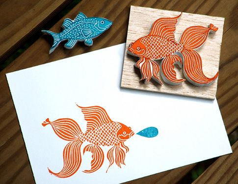 craft lovely » Blog Archive » Linoleum Block Carving
