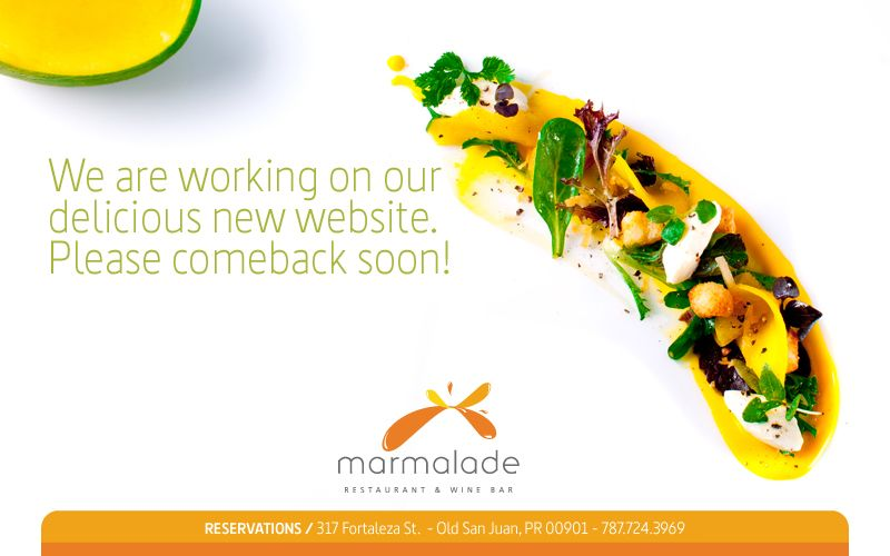 #Marmalade Restaurant, one of  best culinary experiences in the island