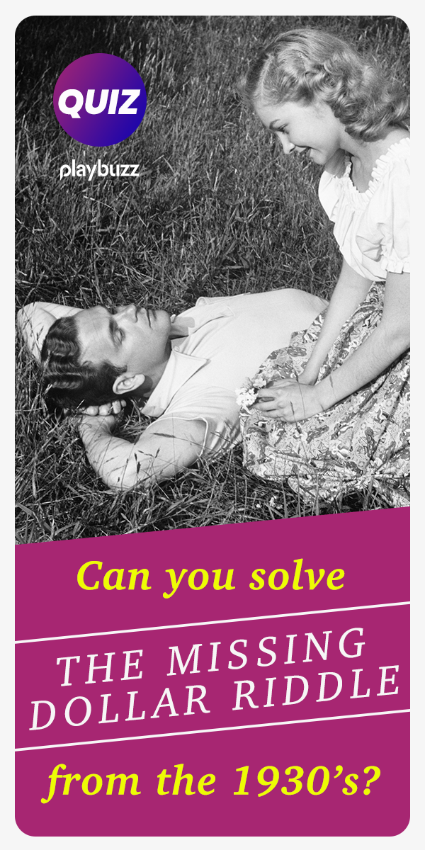 Can You Solve The Missing Dollar Riddle From The 1930's