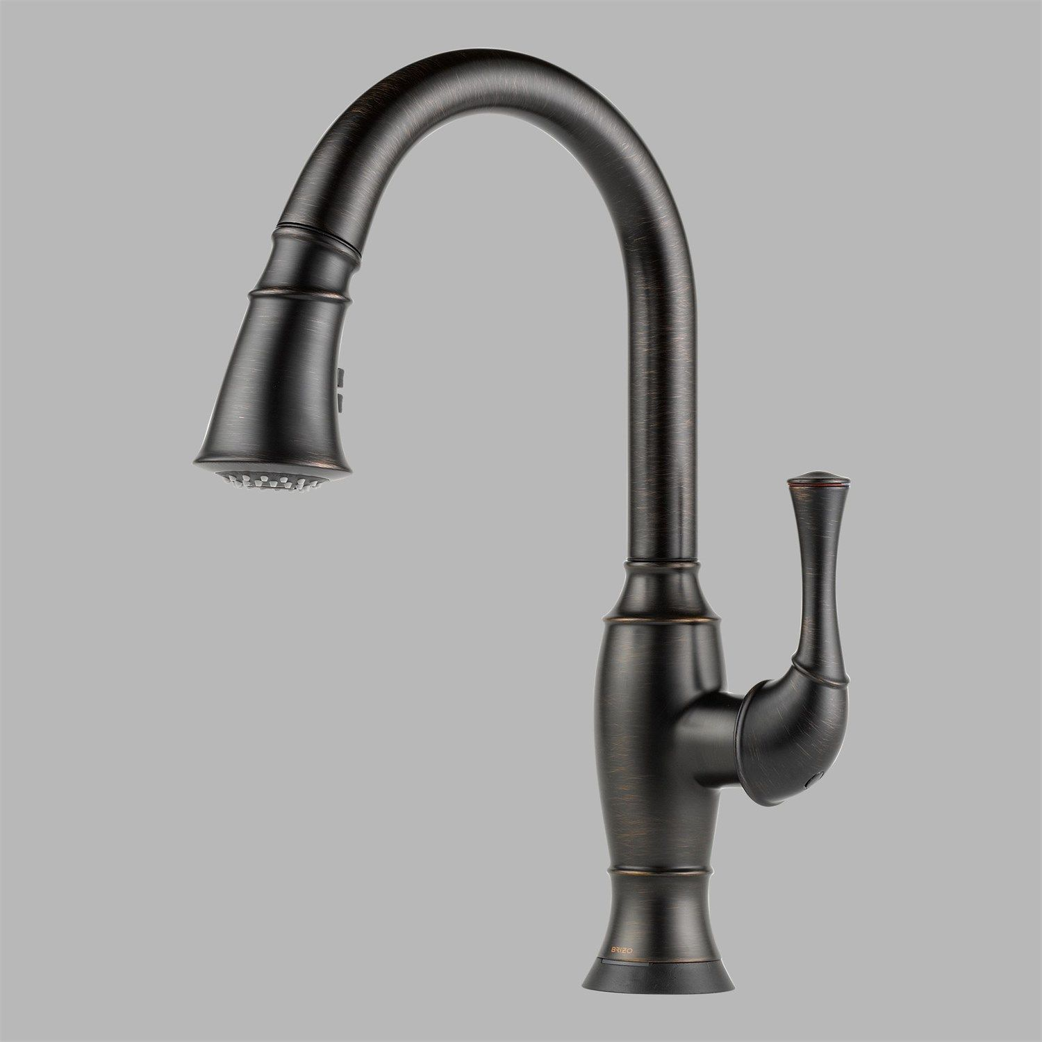 Brizo 64003lf Rb Talo Single Handle Pul Down Kitchen Faucet With Smarttouch Technology In Venetian Bronze