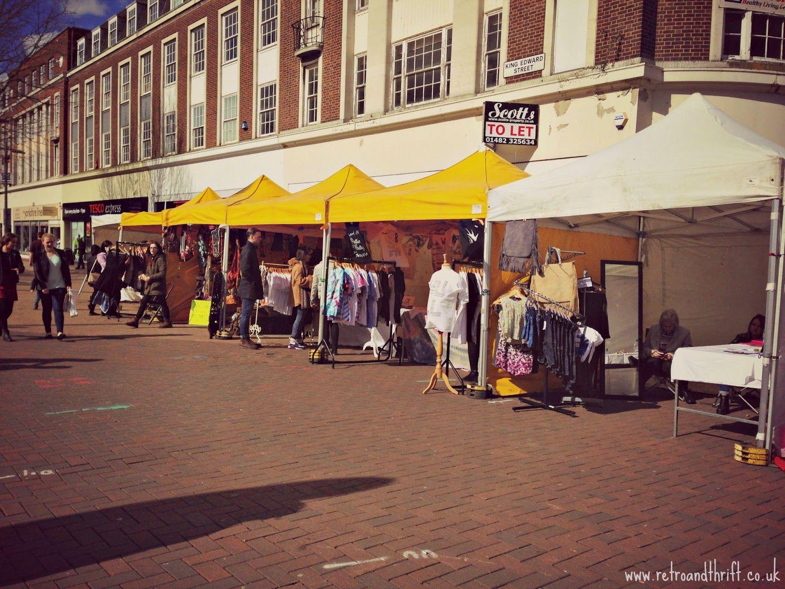Retro and Thrift: Hull Fashion Week 2015 - Vintage Market