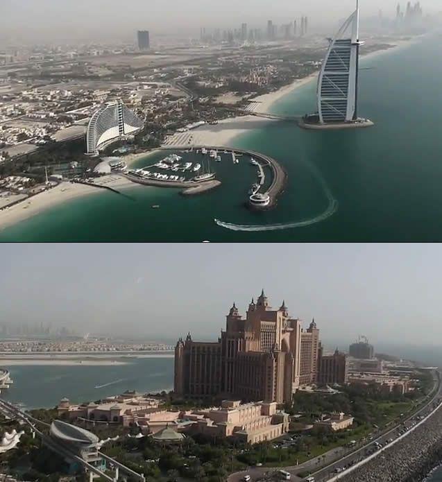 Dubai = helicopter ride over #Dubai Watch http://destinations-for-travelers.blogspot.com.br/2012/11/dubai-helicopter-tour-sobrevoando-helicoptero.html