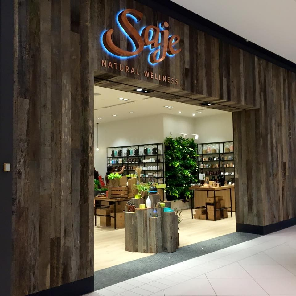 SAJE NATURAL WELLNESS. Just went into on of these stores