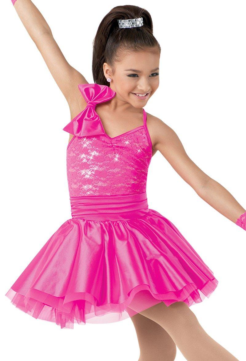 Weissman™ | Lace & Hologram Sequin Dress with Bow | Vestidos para ...