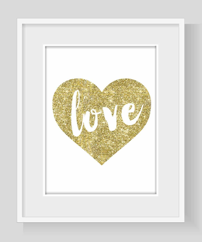 Gold Glitter \