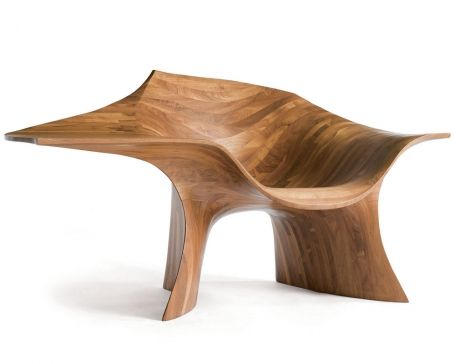 Jack Rogers Hopkins  Edition chair, 1969, Finnish plywood.