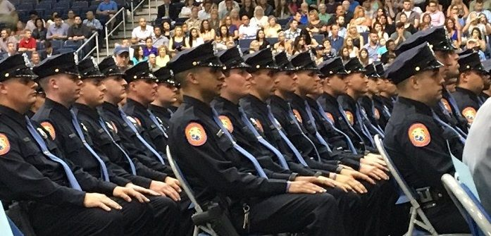 2016 Police Recruit Graduation Is The Largest Class In Over 20 Years Police Academy Recruitment Police