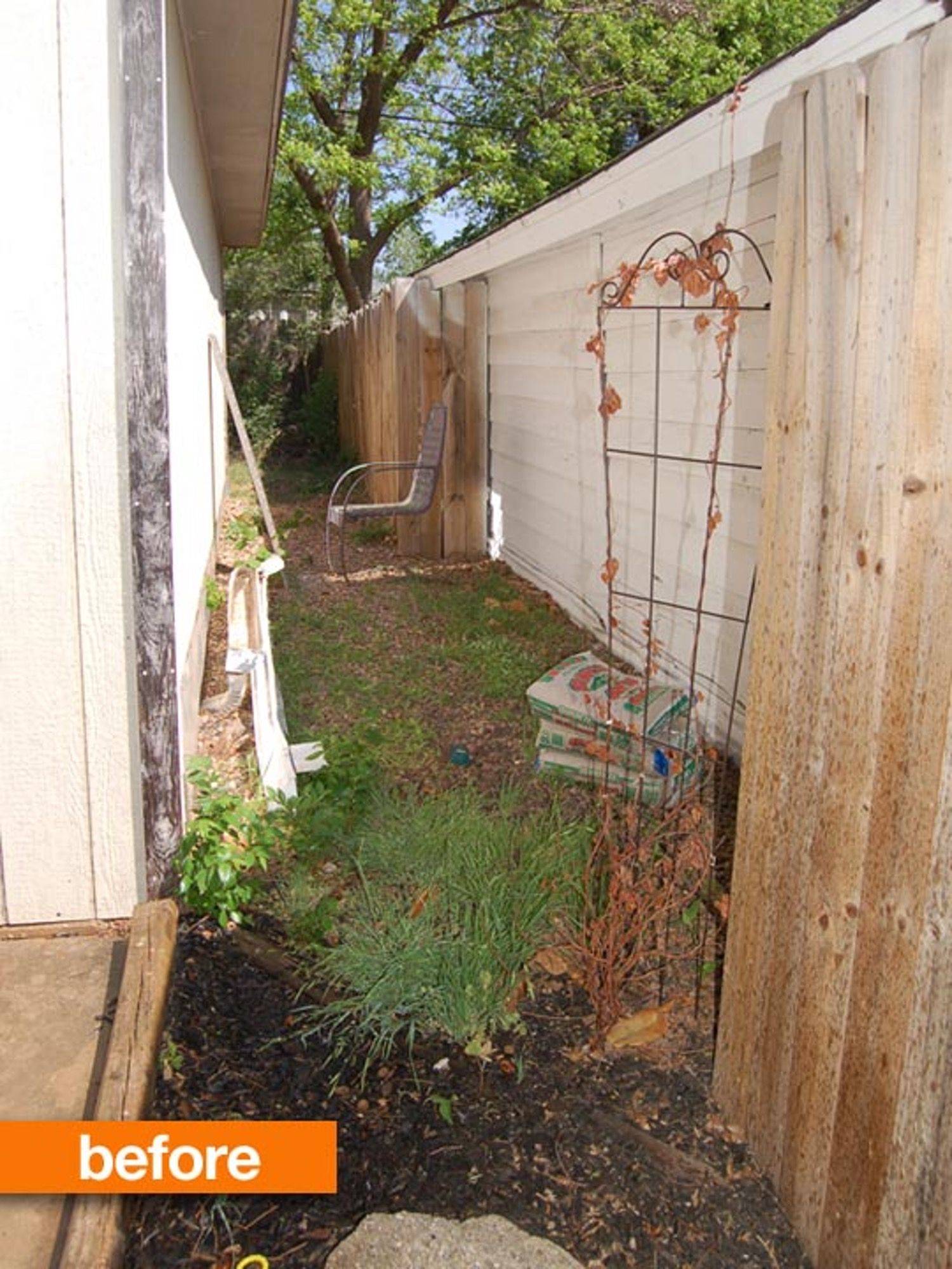 Before & After: Olivia's Kid-Friendly Patio | Small ...