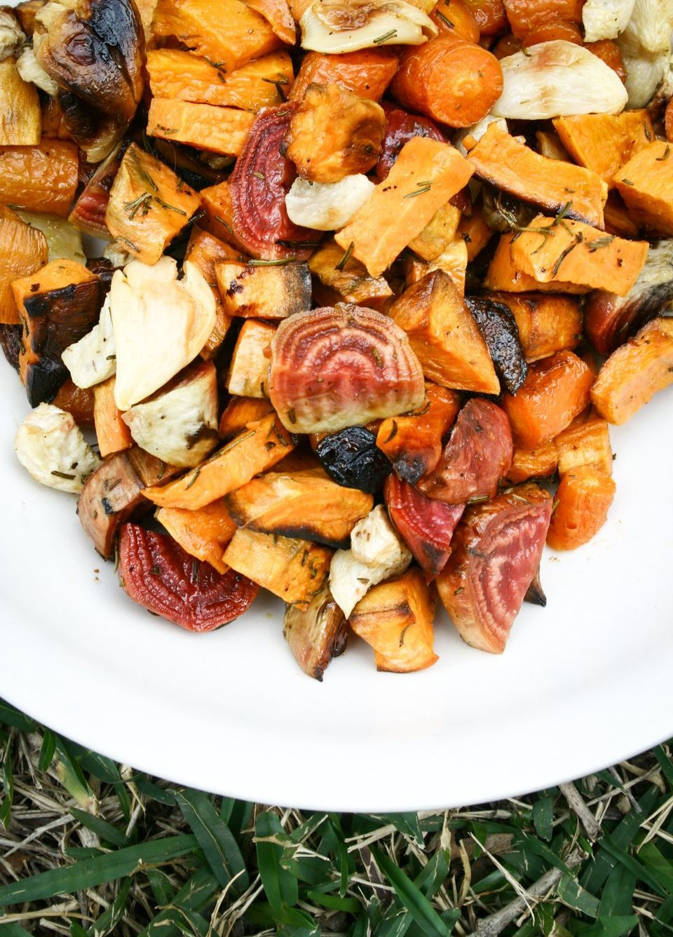 Grow root vegetables then roast them.  This is for the recipe.