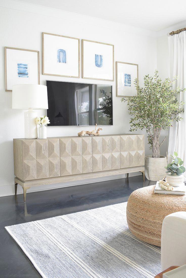 Light & Airy Spring Living Room Tour #homedecordesigner ...