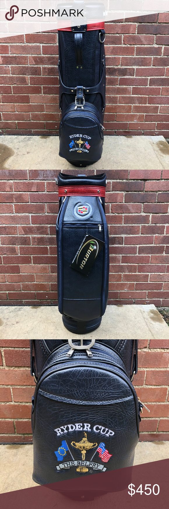 6fae6699c8c2 Burton Ryder Cup Cadillac The Belfry Golf Bag Rare Burton Cadillac the Ryder  Cup The Belfry Golf Bag Made in the USA. This bag is in mint condition  never ...