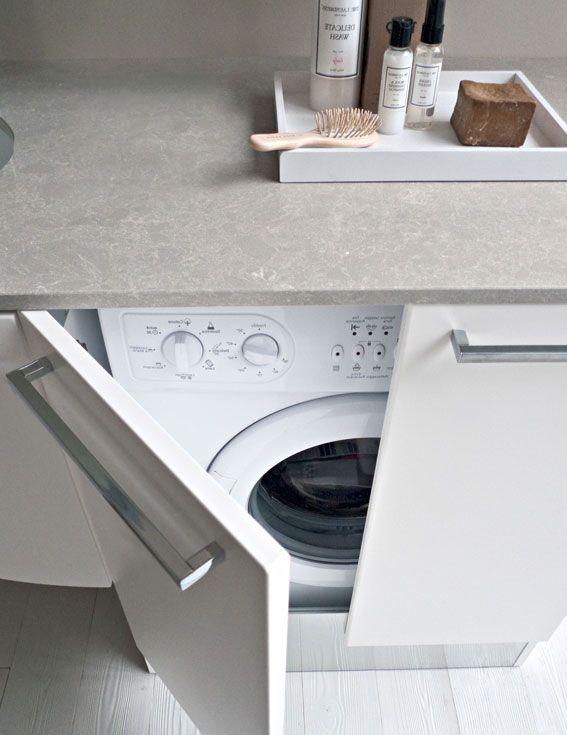 Integrer machine a laver dans salle de bain - Integrer machine a laver dans salle de bain ...