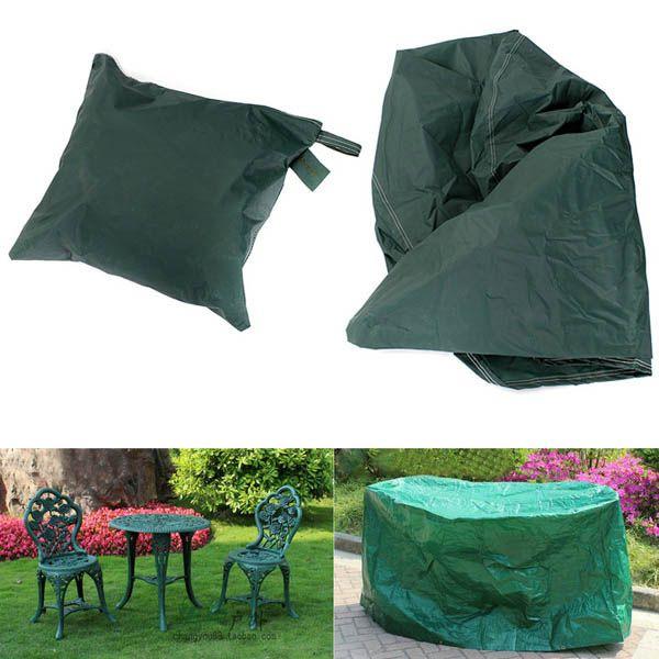 95x140cm jardín muebles de exterior cubierta de polvo redonda ...