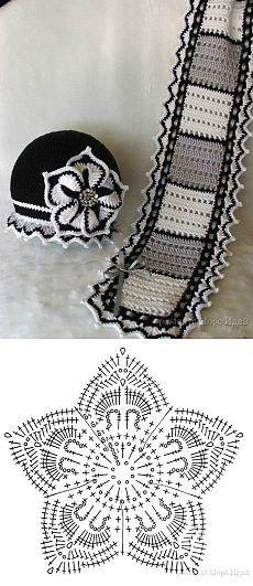 Шарф и шапочка | Умелые ручки