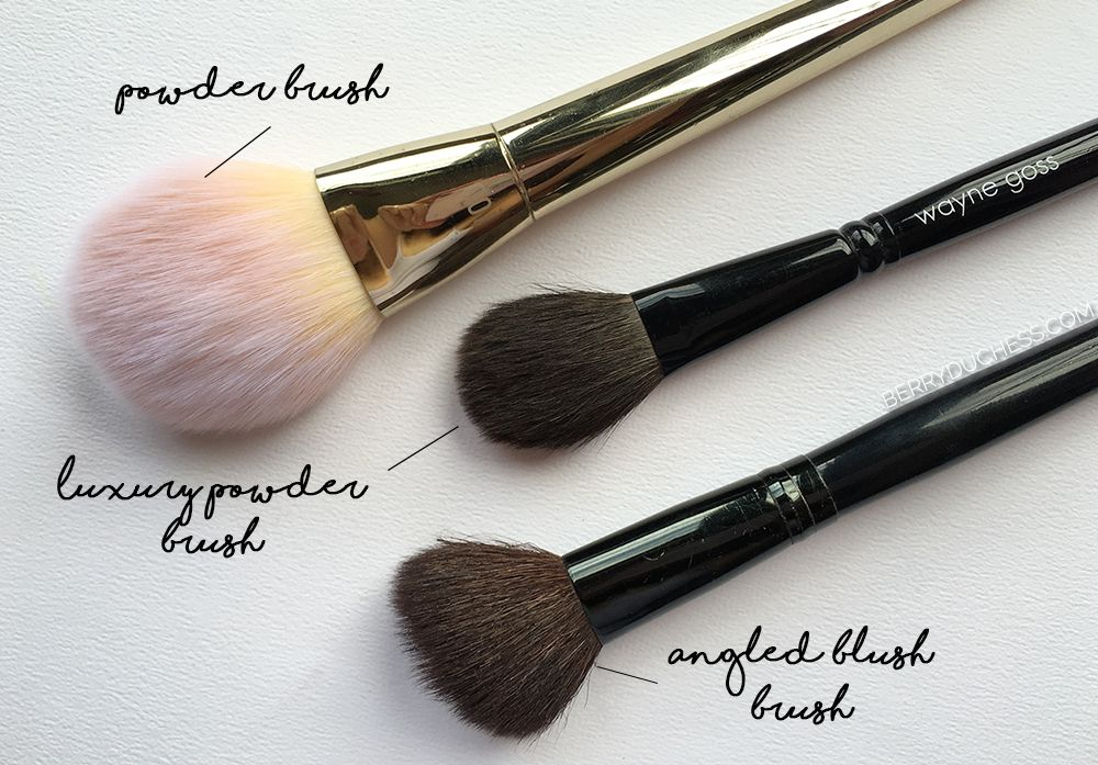 Basic Guide on Makeup brushes Face Brushes Makeup