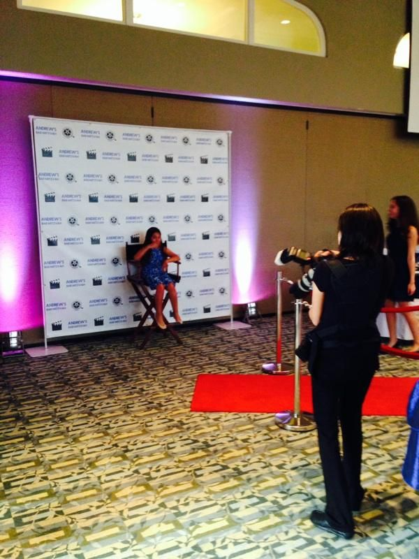 Red Carpet Event With Step And Repit Director Chair Back Wall