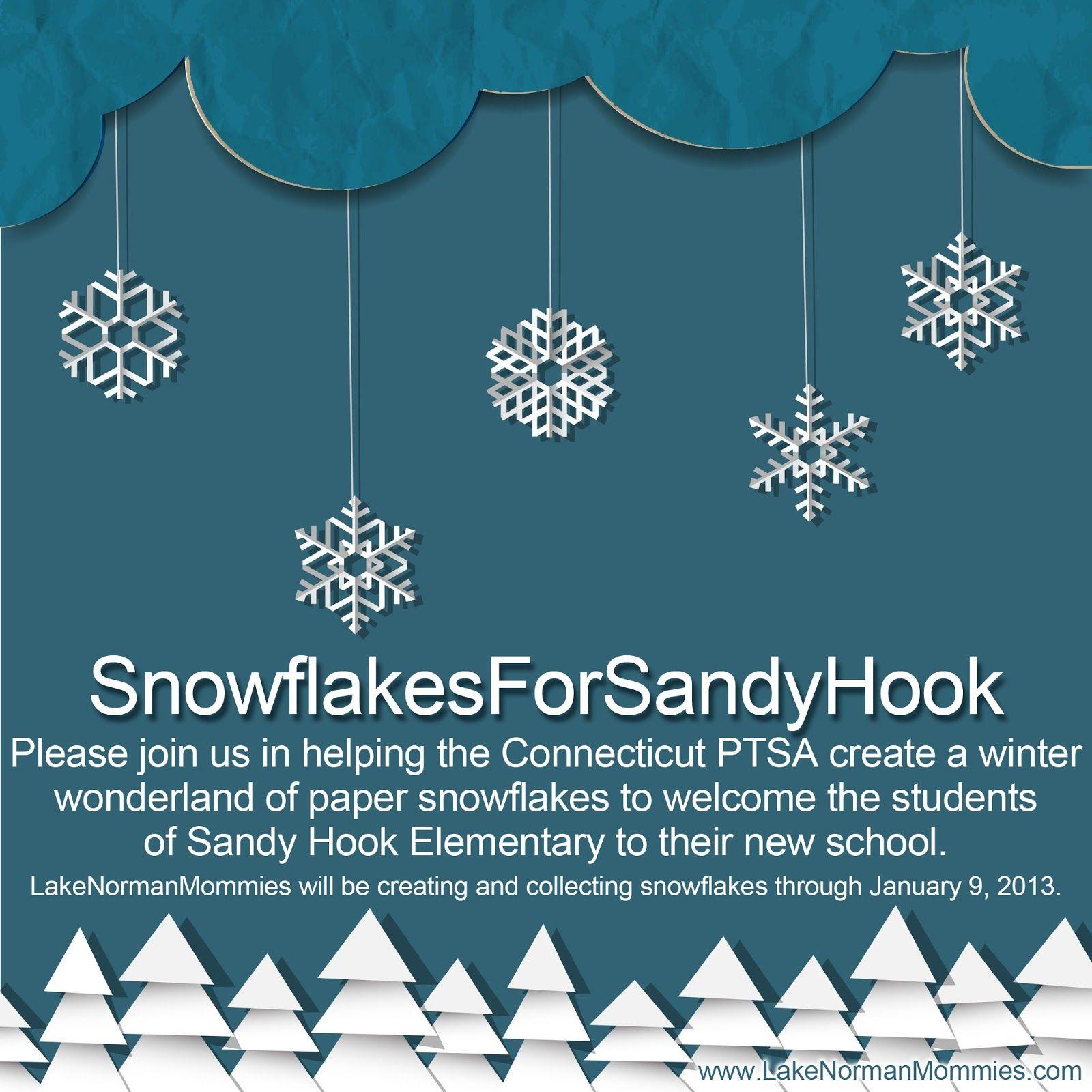#SnowflakesForSandyHook
