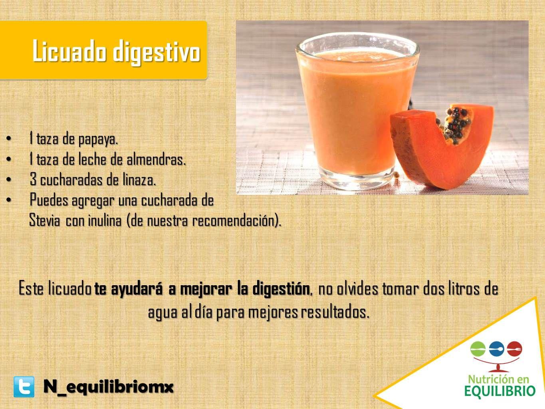 Si padeces estreñimiento te invitamos a que agregues este licuado a tu dieta del día:  #nutricion #salud #dieta #papaya