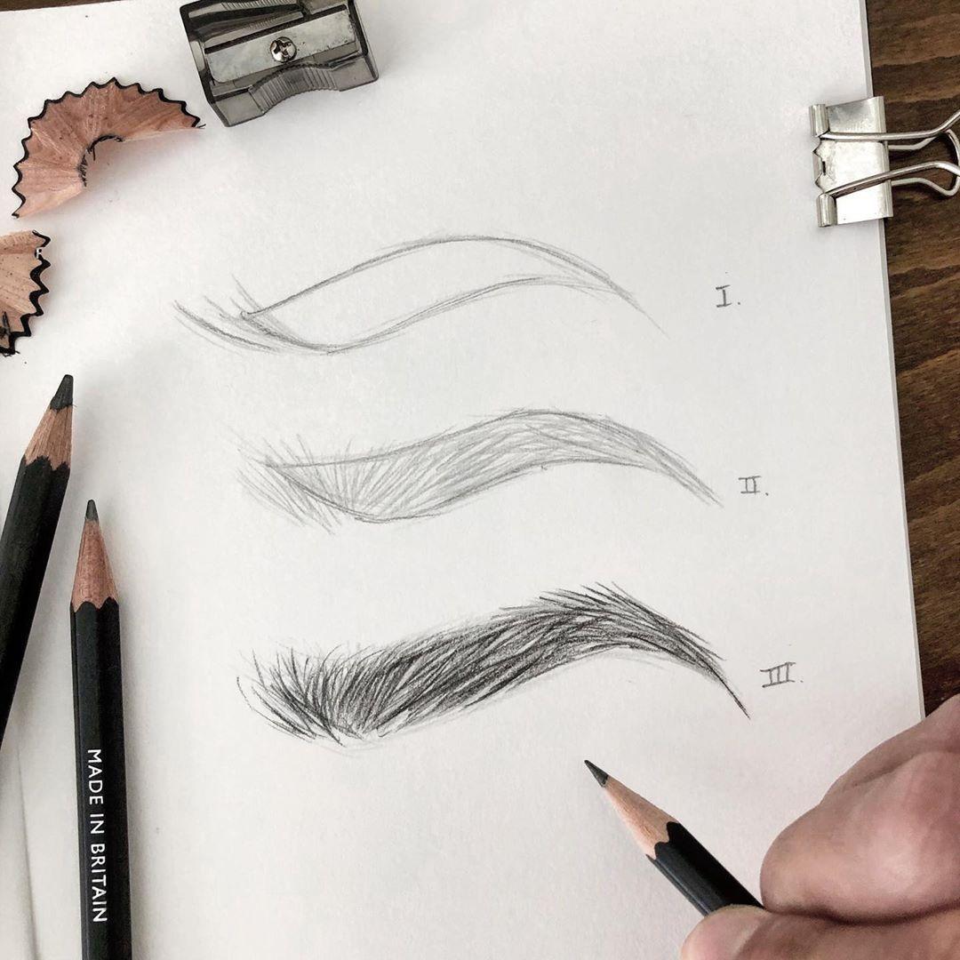 """Photo of Das Instagram-Foto von::: """"Wie man Augenbrauen in drei einfachen Schritten aus…"""