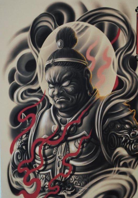 Y A K U Z D A Warrior Tattoo Japanese Warrior Tattoo Warrior Tattoos