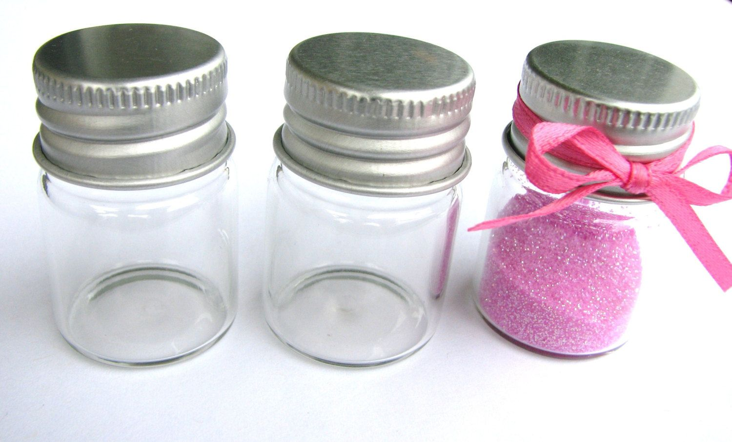 These are great bottles to use for wedding, party favors, spice jars ...