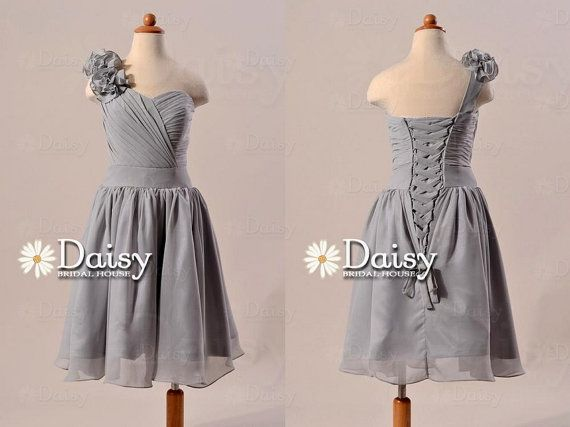 Silver Gray Bridesmaid Dresses Junior_Bridesmaid Dresses ...