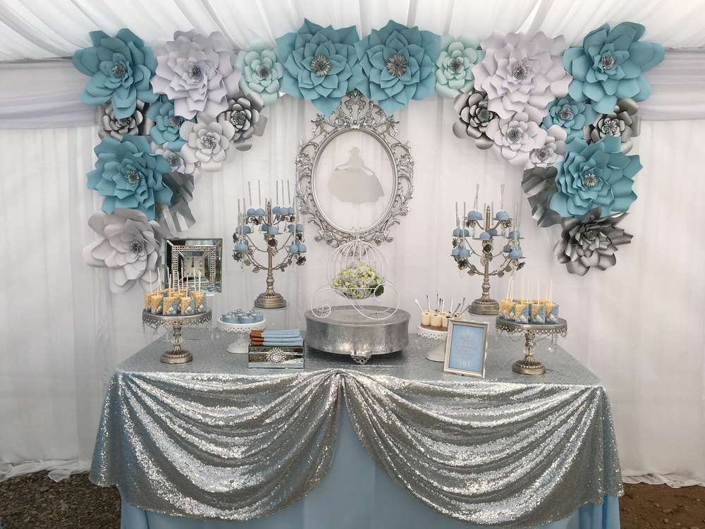Cinderella quincea era party ideas quinceanera ideas for Quinceanera decorations